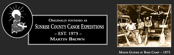 Sunrise County Canoe Expeditions